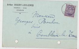 ENGIS  1921 ARTHUR DISCRY LECLERCQ Négoce De Vins Engrais  Etc  /  RARE - Engis