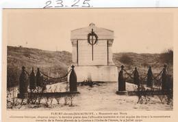 Militaria : FLEURY-devant-DOUAUMONT   (  Monument Aux Morts ) - Monumenti Ai Caduti