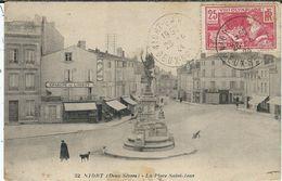 Deux Sevres : Niort, La Place St Jean - Niort