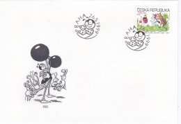 Ceska Republika FDC 1999  Ferda The Ant  (DD15-10) - FDC