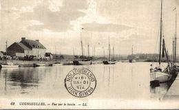 COURSEULLES VUE SUR LE BASSIN - Courseulles-sur-Mer