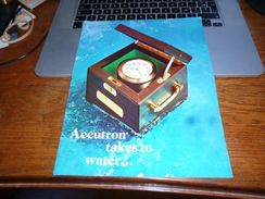 Publicité Accutron By Bulova - Horlogerie - Marine Navigator Mark II - Unclassified