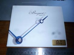 Publicité Commerciale Horlogerie Suisse Catalogue Breguet 1998 100p - Bijoux & Horlogerie