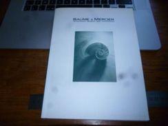 Publicité Commerciale Horlogerie Suisse Catalogue Baume & Mercier  60p - Bijoux & Horlogerie