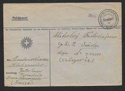 Camp Militaire D' Internement   KRADOLF - SUISSE - Marcophilie (Lettres)