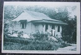 Vanuatu Nouvelles Hebrides Ile Vate Habitation Planteur Cpa - Vanuatu