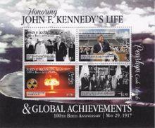 Penrhyn 2017, President Kennedy, Atomic Explosion, NASA Visit,  4val In BF - Space