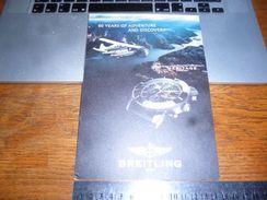 Pub Cartonnée Montre Breitling Super Ocean Heritage - Bijoux & Horlogerie