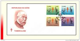 Zaire 1190/93 FDC  Tuberculose - Zaïre
