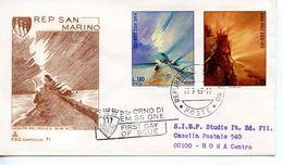 SAN MARINO   -   1969 Stamps Exhibition San Marino - Riccione   FDC2601 - FDC