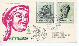 SAN MARINO   -   1971 Art Of The Etruscan   FDC2602 - FDC