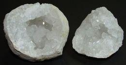 Petite Géode De Quartz Du Maroc (5 X 5 Cm) - Minéraux