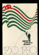 B5445 CISL DIMOSTRAZIONE ROMA AURELIO 1980 - Manifestazioni