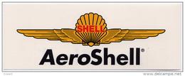 Autocollant AeroShell - Aufkleber