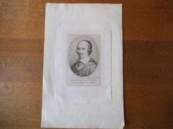 JACQUES LESCOT EVÊQUE DE CHARTRES NE EN 159.. A St QUENTIN MORT LE 22 AOUT 1656 - Alte Papiere
