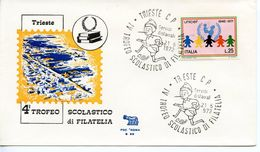 ITALY   -   1972 4TH SCHOOL PHILATELIC TROPHY    FDC2611 - 6. 1946-.. República