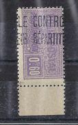 Algérie Colis Postaux 1924-1927 N13 Neuf Sans Charnière ** - Parcel Post