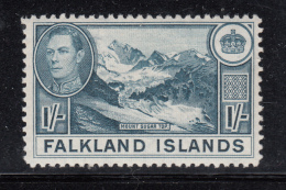 Falkland Islands 1938 MH Scott #91 1sh Mount Sugar Top George VI - Falkland Islands