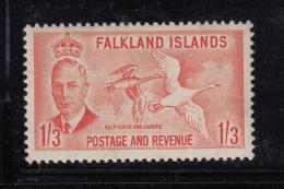 Falkland Islands 1952 MNH Scott #116 1sh3p Kelp Goose And Gander George VI - Falkland