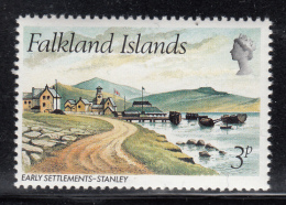 Falkland Islands 1980 MNH Scott #310 3p Early Settlements Stanley - Falkland