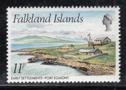Falkland Islands 1980 MNH Scott #311 11p Early Settlements Port Egmont - Falkland