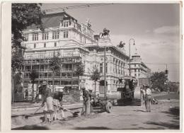 Altes Großes Orig.Foto - Strassen Bauarbeiten In Wien, Fotoformat 24 X 17,5 Cm - Foto