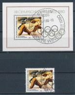 DDR/East Germany/Allemagne Orientale 1980 Mi: Block 57 + 2482 (Gest/cancelled/obl/entw/o)(2995) - Oblitérés