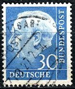 BRD - Michel 187 - OO Gestempelt (C) - 30Pf   Heuss I - [7] West-Duitsland