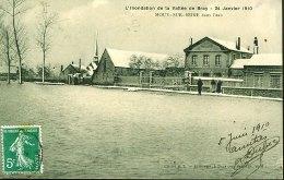 77 - B1262CPA - MOUY SUR SEINE - L'inondation De La Vallée De BRAY - 24 Janvier 1910 - Parfait état - SEINE-ET-MARNE - Zonder Classificatie