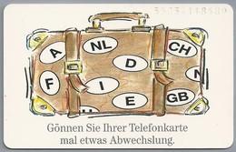 DE.- Telecom TELEFONKARTE. 12 DM. - Gönnen Sie Ihrer Telefonkarte Mal Etwas Abwechslung. - P & PD-Reeksen : Loket Van D. Telekom