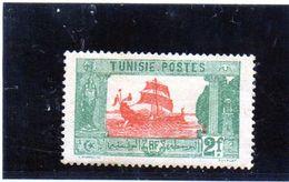 B - 1925 Tunisia - Galea Cartaginese - Tunisia (1888-1955)