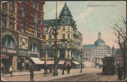 Bahnhofplatz, Düsseldorf, Deutschland, 1919 - Field Post Office - Zieher AK - Duesseldorf