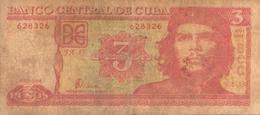 Cuba Billet De 3 Pesos 2004 - Cuba