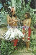 84105 PARAGUAY COSTUMES NATIVE INDIOS MACA BREAK POSTAL POSTCARD - Paraguay