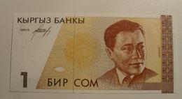 1999 - Kirghizistan - 1 SOM - AF 9661744 - Kirghizistan