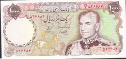 IRAN P105d 1000 RIALS 1974 Signature 12    UNC. ! ! - Iran