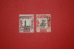 FIERE DI TRIPOLI - SECONDA FIERA  -CENT.30 -LIT. 1,25  - 1928. -  USATO - Tripolitania