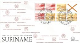 Surinam Suriname 1978 Paramaribo Airmail Stamp Booklet FDC Cover - Suriname