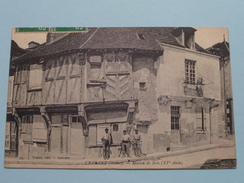CRAVANT Maison De Bois ( Toulot ) Anno 1912 ( Zie Foto Details ) !! - Autres Communes