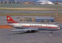 Aviation Postcard-454 SWISSAIR Caravelle - 1946-....: Modern Era