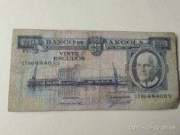 20 Escudos 1962 - Angola