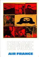 Air France Espagne - Reproduction De L'affiche De Raymond Pagès, 1971 - 1946-....: Ere Moderne
