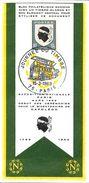 JOURNEE DU TIMBRE CACHET SAPEURS-POMPIERS 15/3/1969 PARIS TIMBRE POSTE  CORSE - Stamps