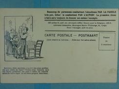 Alcoolisme Anti-alcoolique Carte Illustrée Ouvriers, Dites-moi Donc,... - Santé