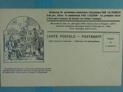 Alcoolisme Anti-alcoolique Carte Illustrée La Femme Du Buveur... - Santé