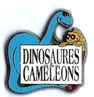 DINOSAURES - D3 - DINOSAURES & CAMELEONS - Verso : SPIRALE ETOILE - Animales