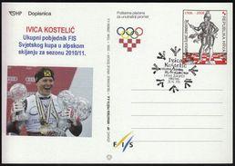 Croatia Zagreb 2011 / Ivica Kostelic Winner Of The World Championships 2010/2011 In Alpine Skiing - Ski