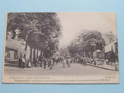 Les Allées Et L'ancien Bureau D'octroi Pendant L'occupation Allemande ( A. Gelly ) Anno 19?? ( Zie Foto Details ) ! - Charleville