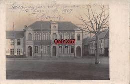 Carte Postale Photo Militaire Allemand PECQUENCOURT (Nord) La Mairie 10 Décembre 1917 -Krieg-Guerre-14/18 - Frankreich