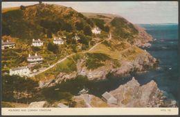 Polperro And Cornish Coastline, Cornwall, C.1960 - Jarrold Postcard - England